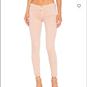 Current/Elliott Stiletto Jean in Rose Dust